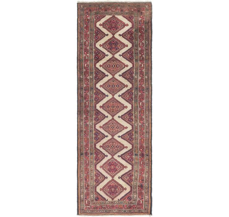 97cm x 305cm Chenar Persian Runner Rug