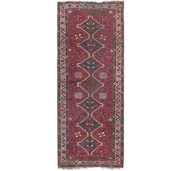 Image of 3' 9 x 10' Shiraz Persian Runner Rug