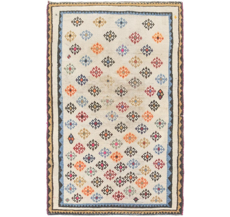 3' 6 x 5' 10 Shiraz Persian Rug