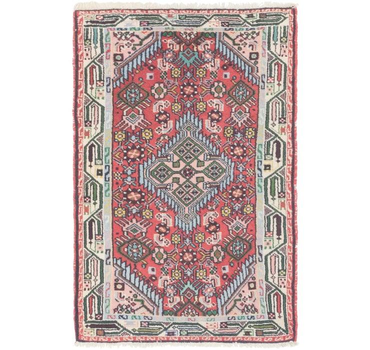 2' 8 x 4' Darjazin Persian Rug