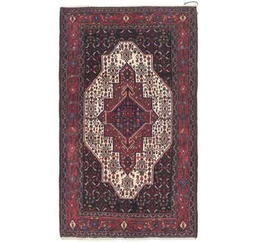 Image of 4' x 6' 10 Senneh Persian Rug