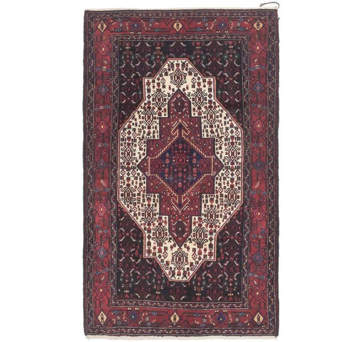 Image of 122cm x 208cm Senneh Persian Rug