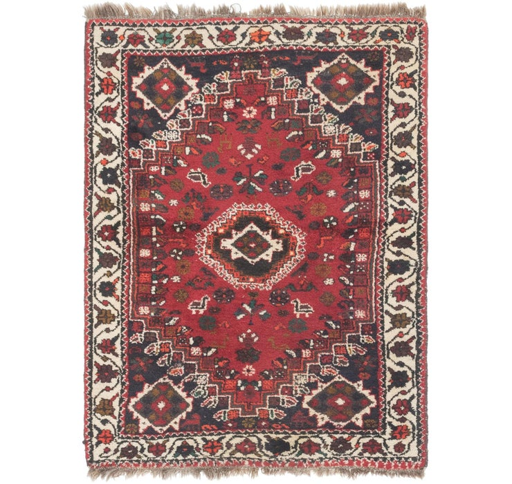 4' 2 x 5' 5 Shiraz Persian Rug