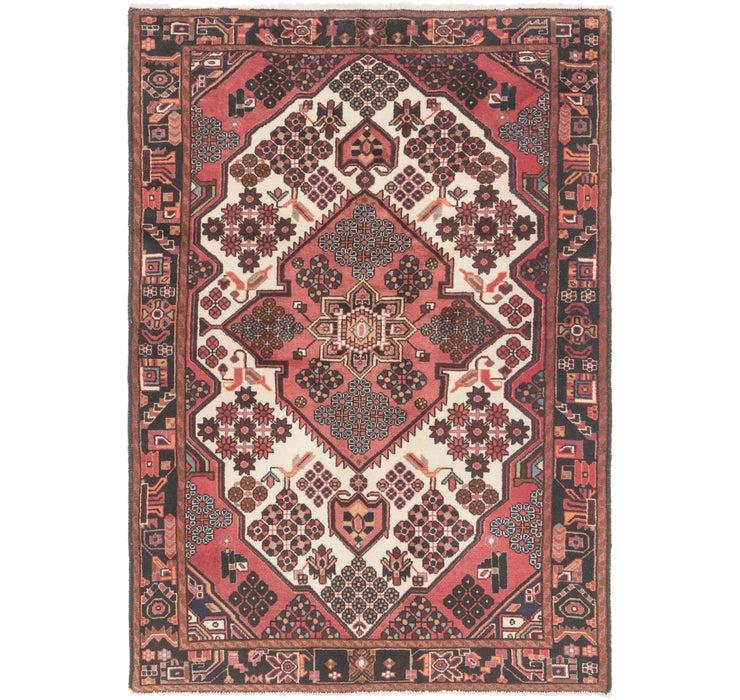 140cm x 203cm Hamedan Persian Rug