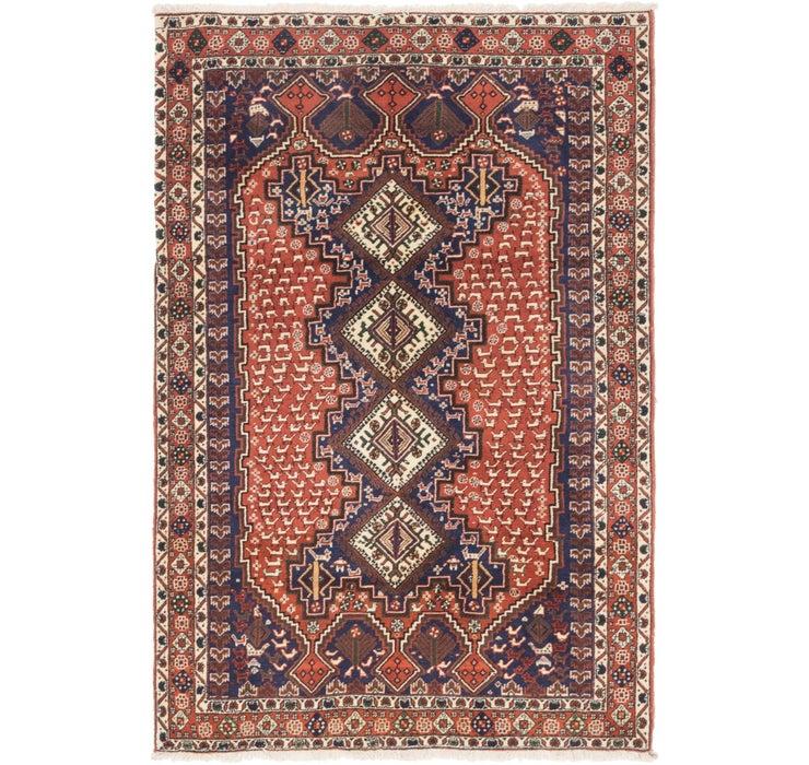 137cm x 205cm Yalameh Persian Rug