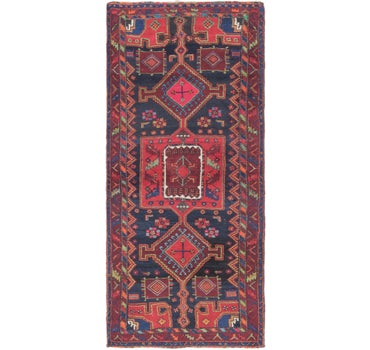 4' 4 x 9' 9 Gholtogh Persian Runner Rug main image