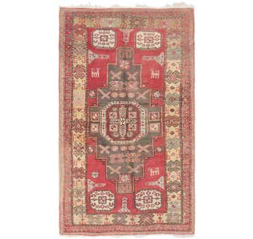 Image of 4' 5 x 7' 8 Meshkin Persian Rug