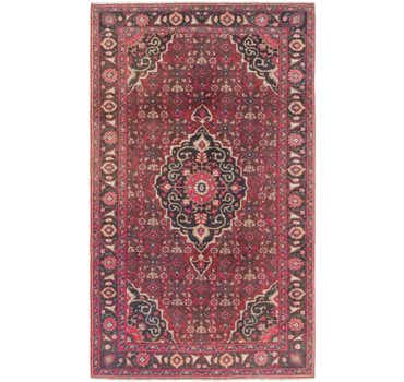 Image of 4' 3 x 7' Hossainabad Persian Rug