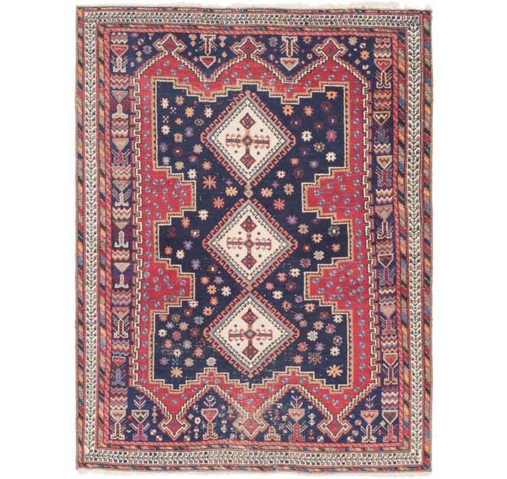 157cm x 205cm Yalameh Persian Rug