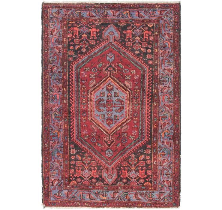 142cm x 208cm Zanjan Persian Rug