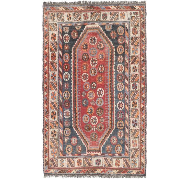 122cm x 213cm Shiraz Persian Rug