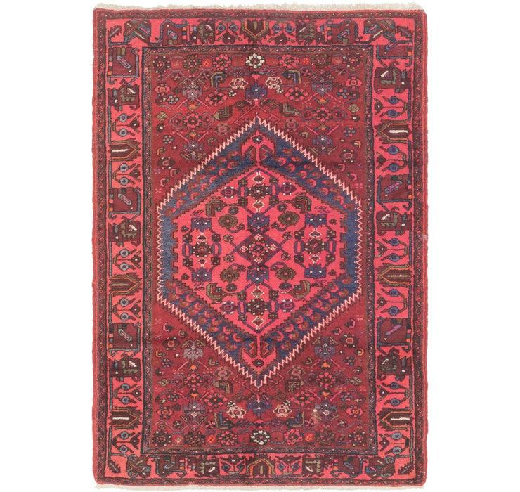 4' 7 x 6' 8 Zanjan Persian Rug