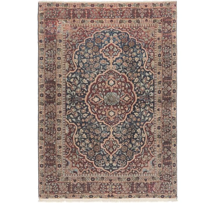 4' 2 x 6' 10 Bidjar Persian Rug