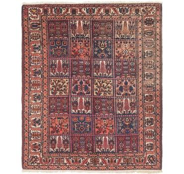 5' 6 x 6' 7 Bakhtiar Persian Square Rug main image