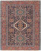 4' 9 x 6' Gharajeh Persian Rug thumbnail