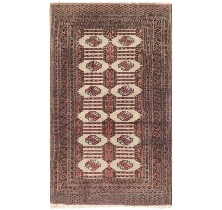 127cm x 218cm Bokhara Oriental Rug