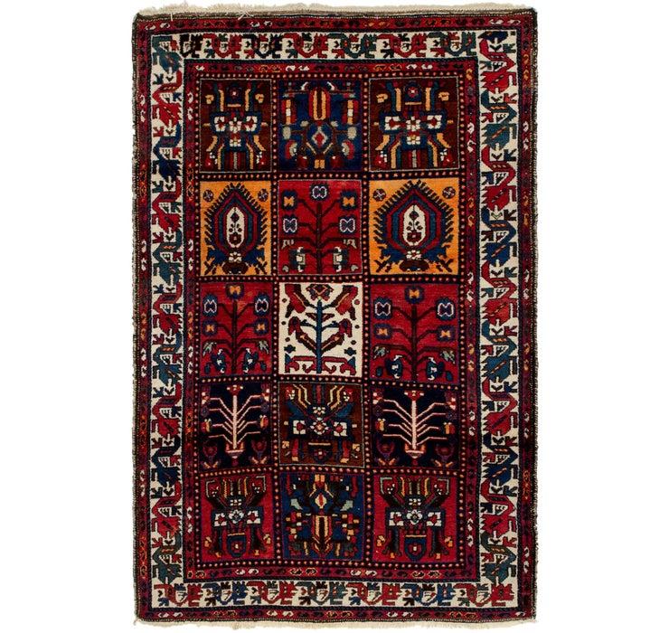 127cm x 205cm Bakhtiar Persian Rug