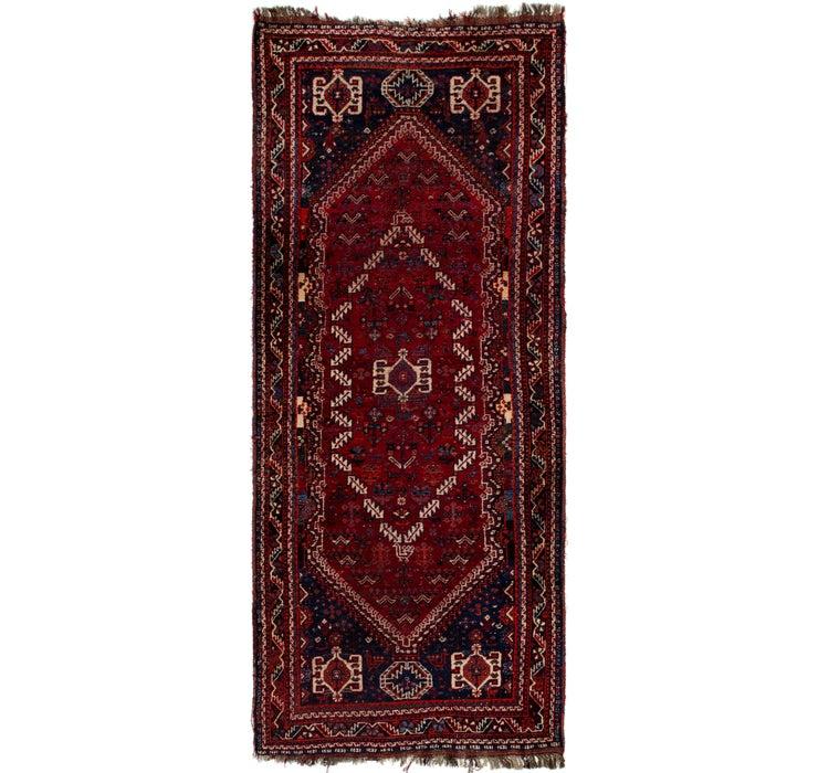 Image of 117cm x 305cm Ghashghaei Persian Runn...