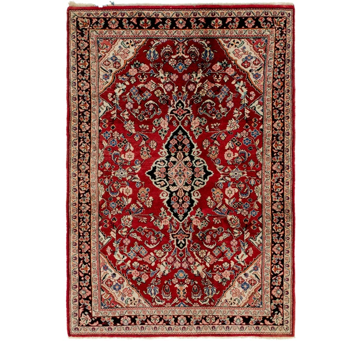 4' 7 x 6' 7 Shahrbaft Persian Rug