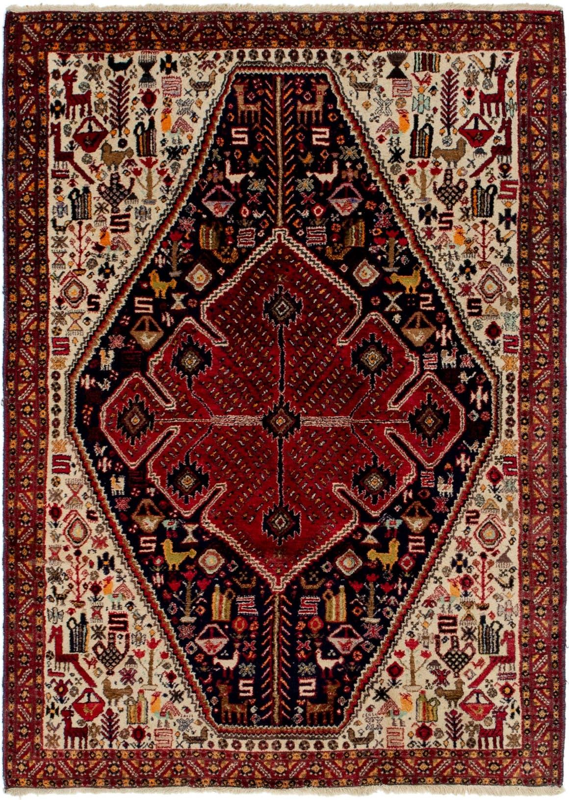 4' 3 x 6' Yalameh Persian Rug main image