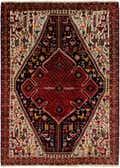 4' 3 x 6' Yalameh Persian Rug thumbnail