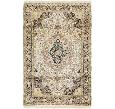 4' x 6' 2 Kashmir Oriental Rug