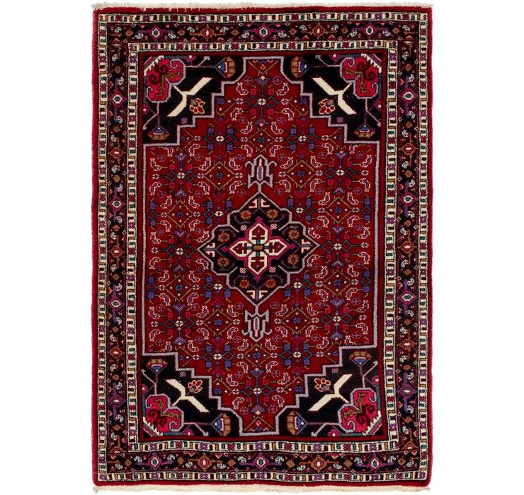 4' x 8' Shiraz Persian Rug