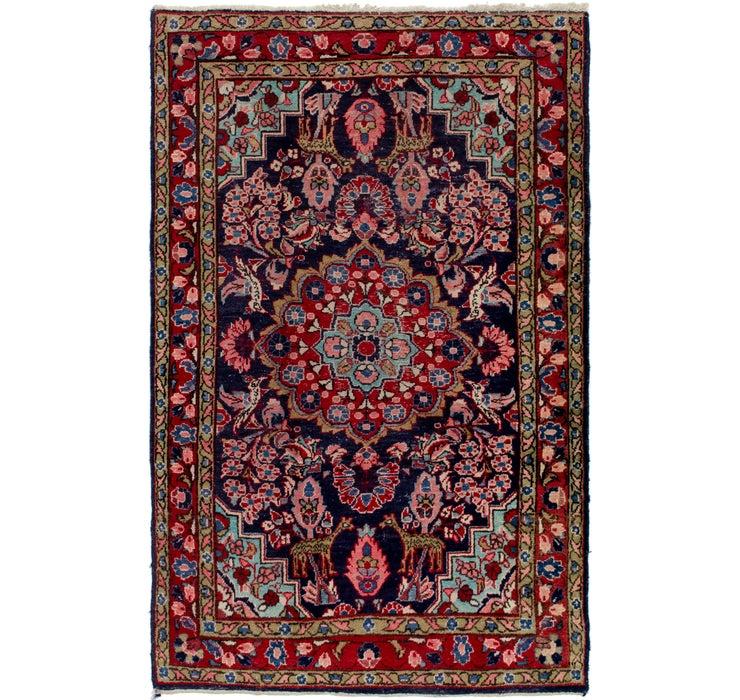 4' 3 x 6' 9 Farahan Persian Rug