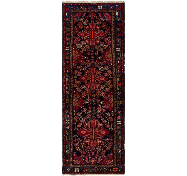 102cm x 318cm Hamedan Persian Runner ...