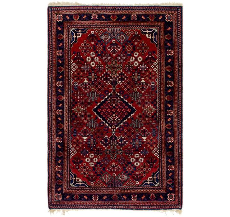 122cm x 205cm Maymeh Persian Rug
