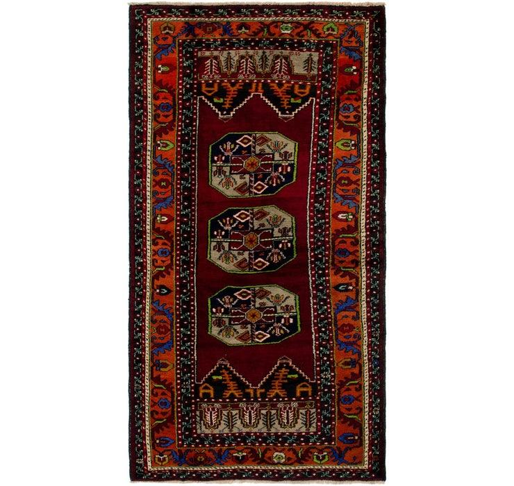 4' x 7' 8 Anatolian Runner Rug