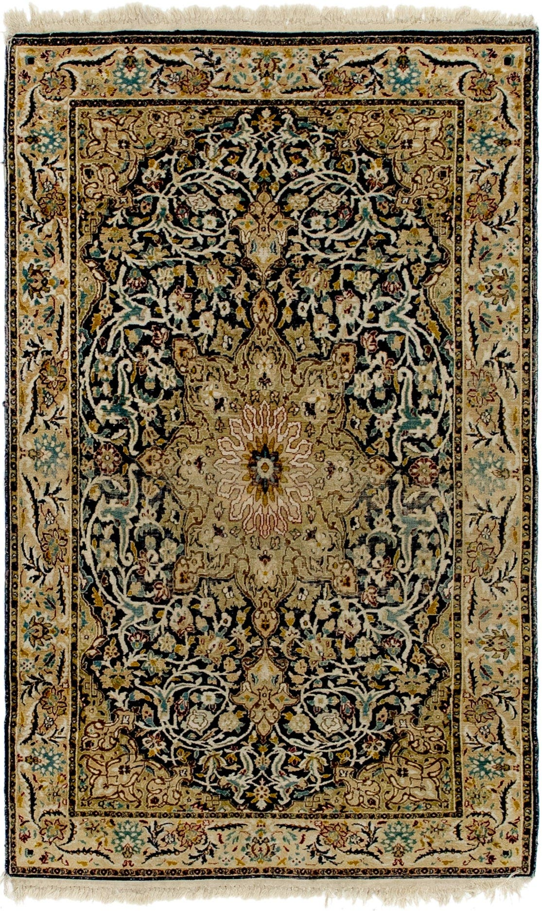 3' x 5' Kashmir Oriental Rug main image
