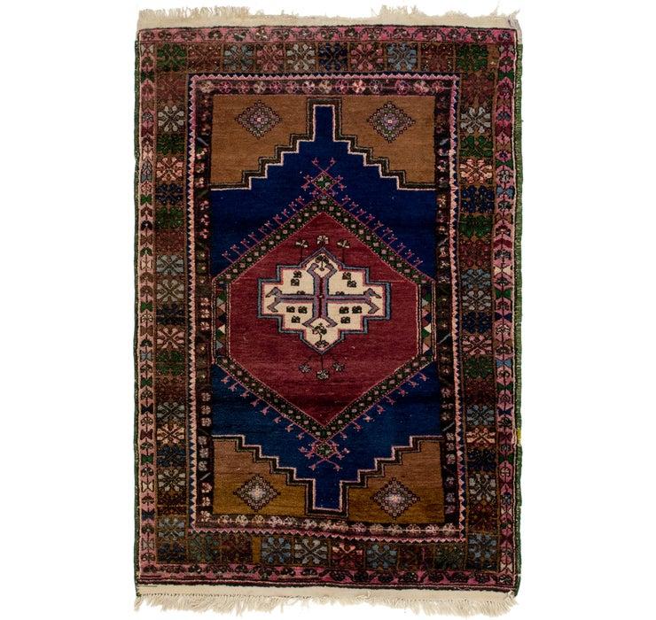 4' 2 x 6' 2 Anatolian Rug