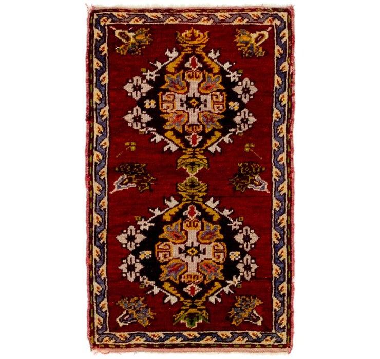 1' 6 x 2' 6 Anatolian Rug