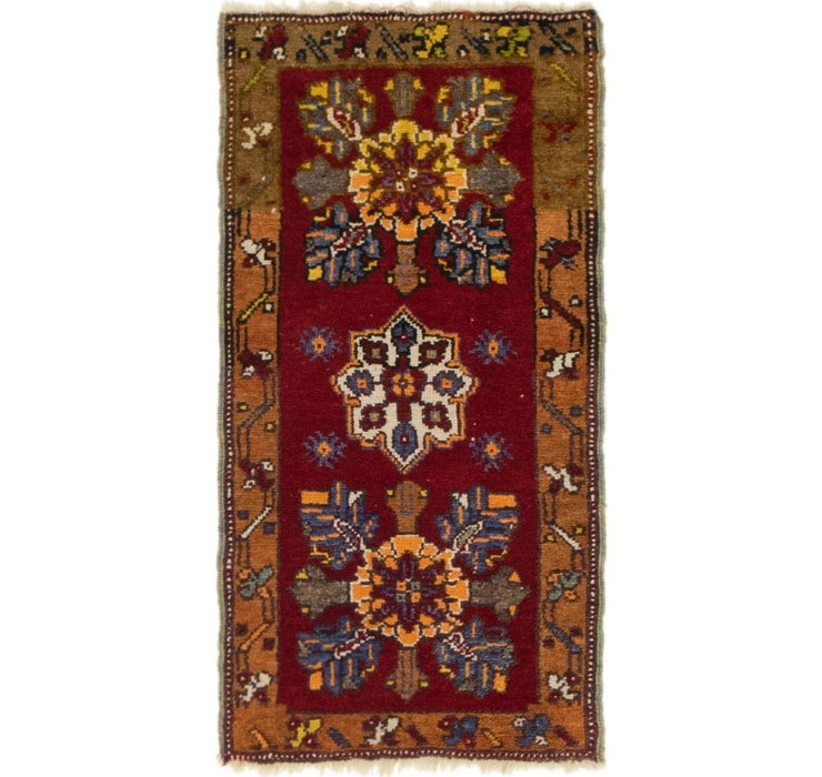 1' 6 x 3' Anatolian Rug