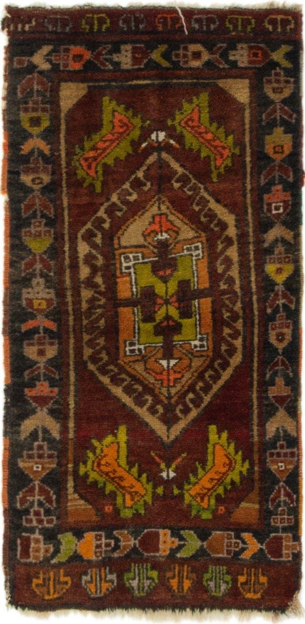 1' 7 x 3' Anatolian Rug main image