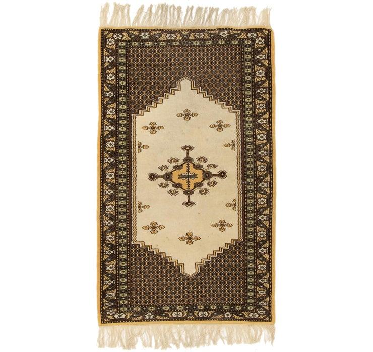 90cm x 147cm Moroccan Oriental Rug