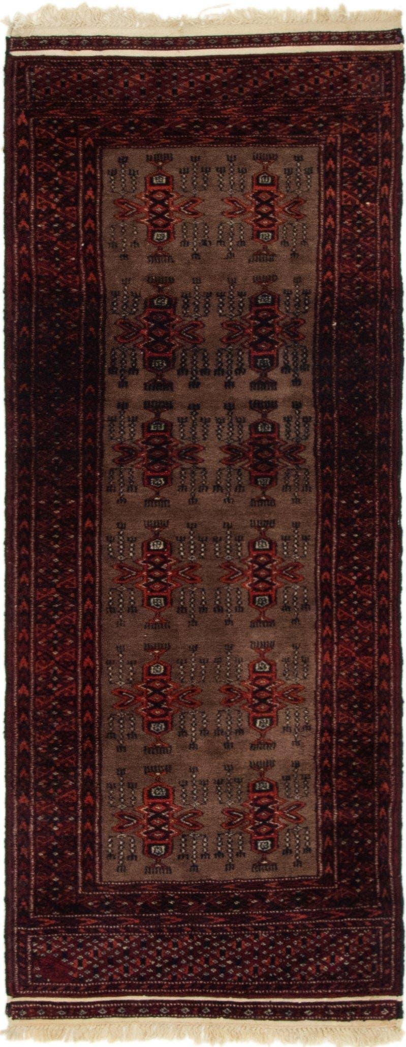 2' x 5' Bokhara Oriental Runner Rug main image
