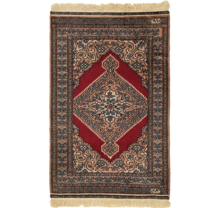 2' 8 x 4' Bokhara Oriental Rug