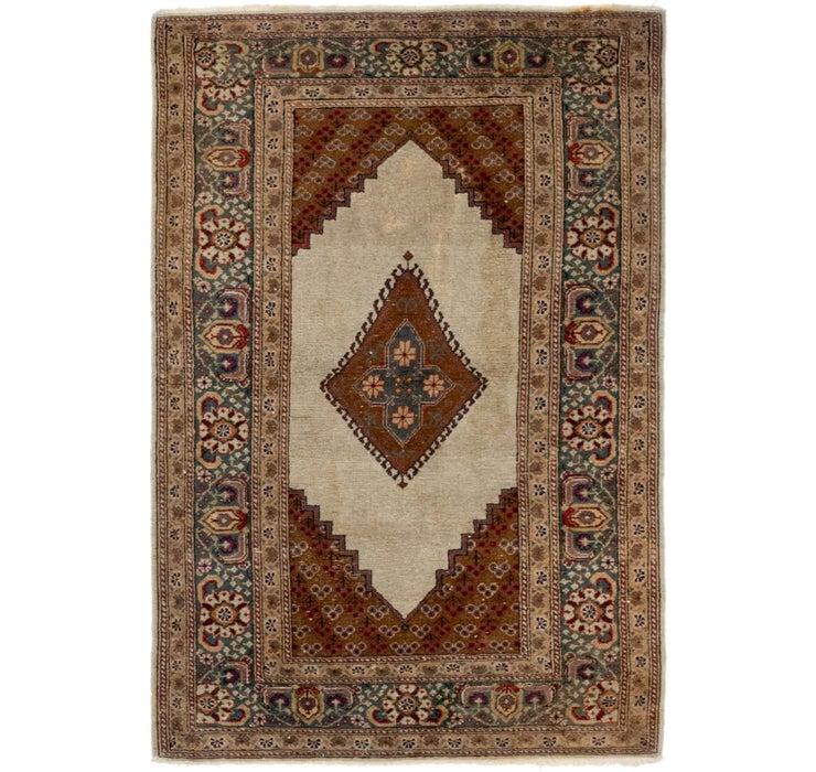 2' 10 x 4' 5 Tabriz Oriental Rug