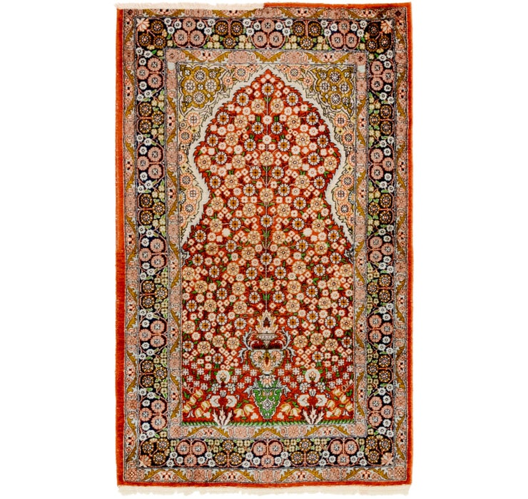 75cm x 127cm Kashmir Oriental Rug