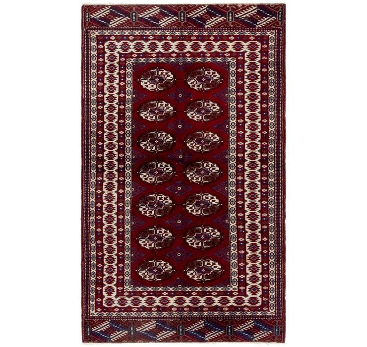 90cm x 165cm Bokhara Oriental Rug