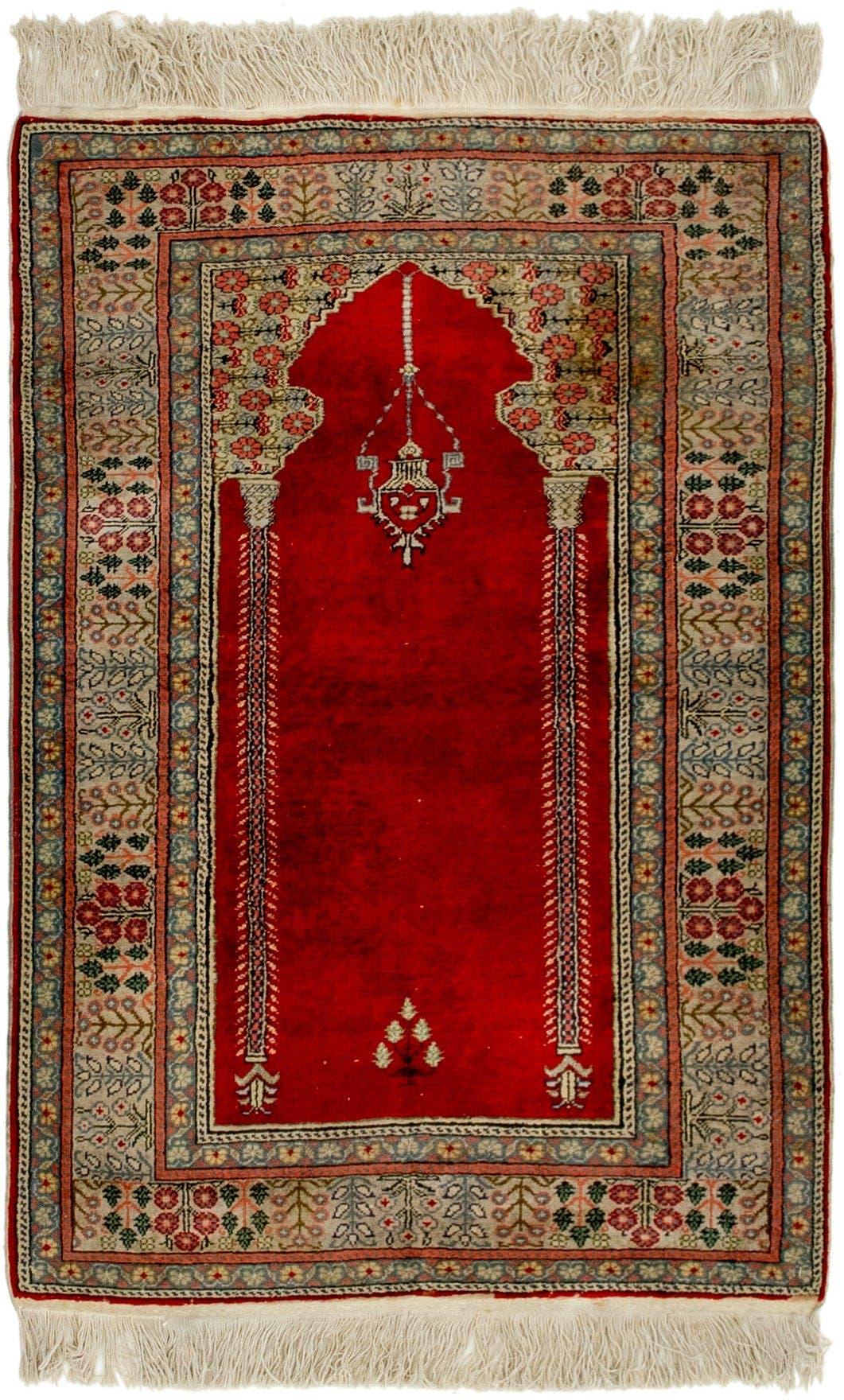 3' x 4' 4 Lahour Oriental Rug main image