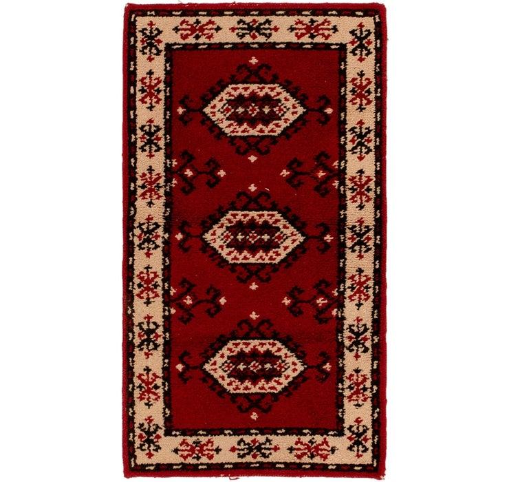 80cm x 142cm Moroccan Rug
