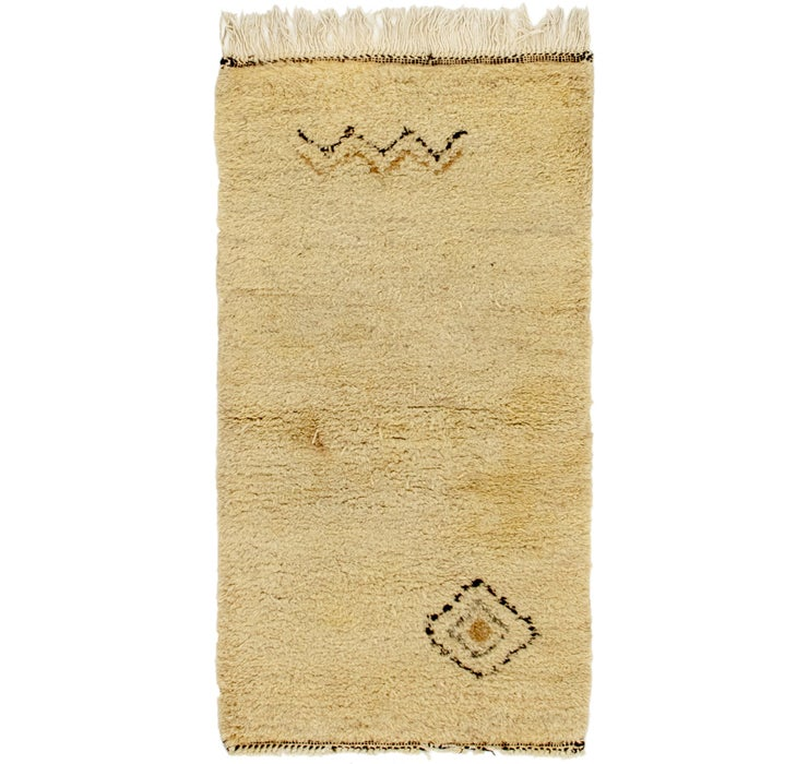 80cm x 145cm Moroccan Rug
