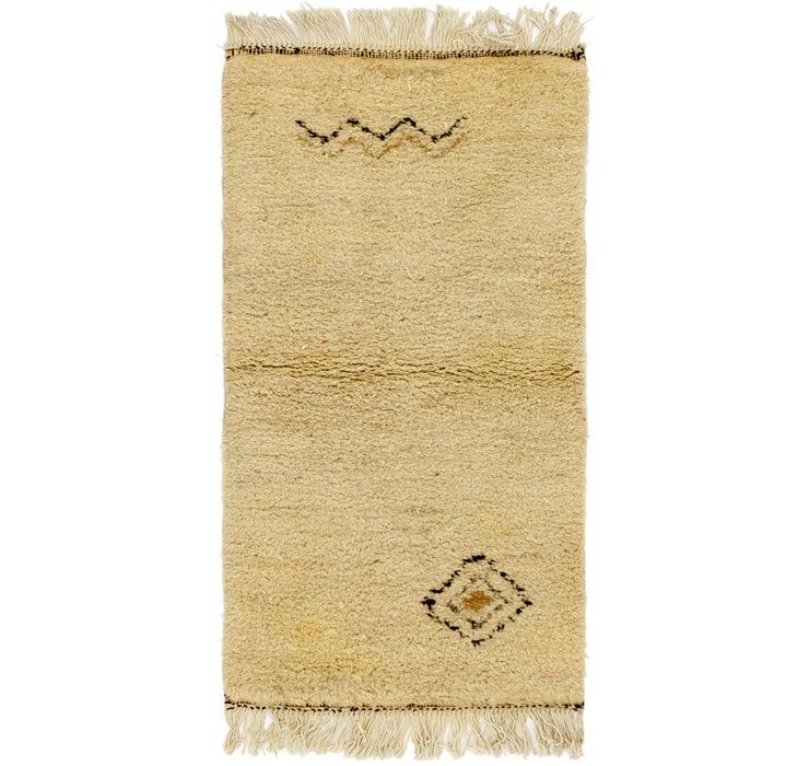 75cm x 145cm Moroccan Rug