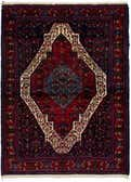 3' 10 x 5' 7 Senneh Persian Rug thumbnail