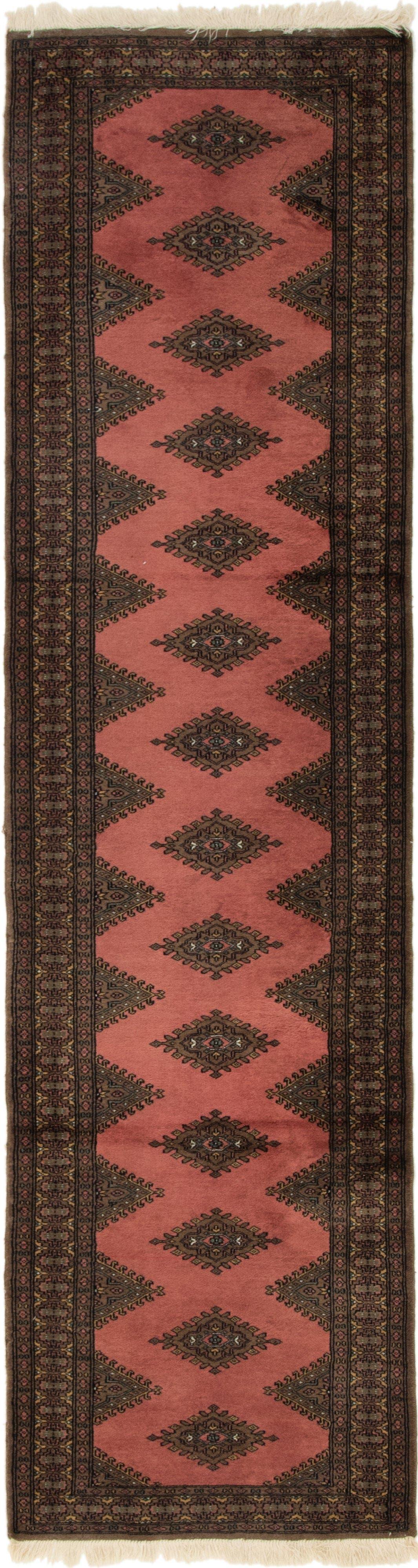 2' 7 x 10' Bokhara Oriental Runner Rug main image