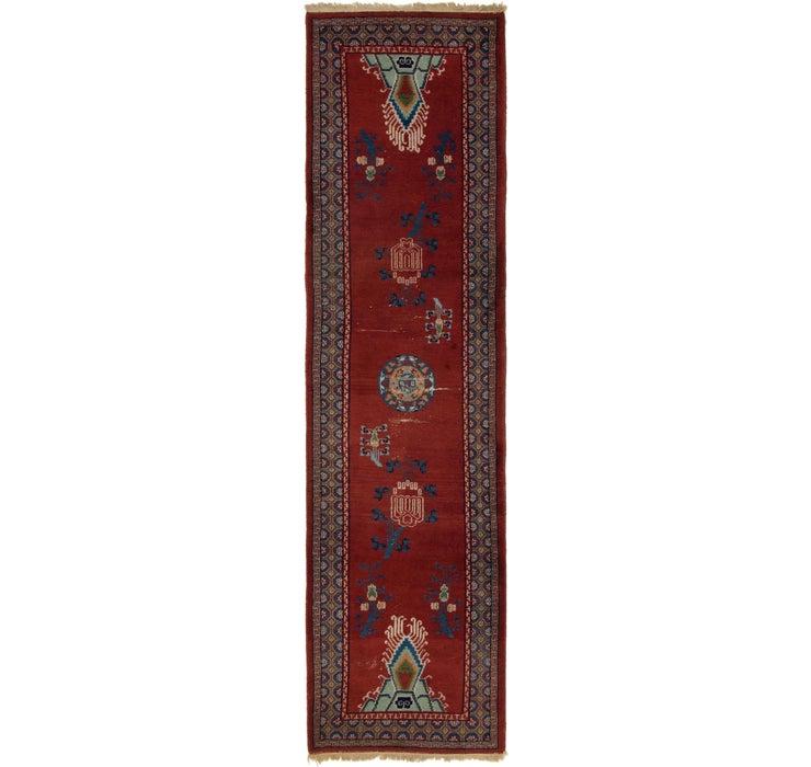Image of 97cm x 345cm Anatolian Runner Rug