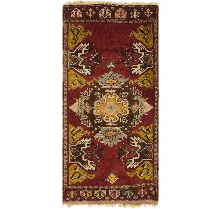 1' 8 x 3' 5 Anatolian Rug